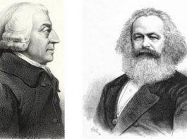 آدام اسمیت-کارل مارکس