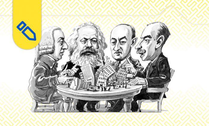 تاریخ عقاید اقتصادی - جهان باستان روم و یونان - افلاطون- قرون وسطا- رنسانس